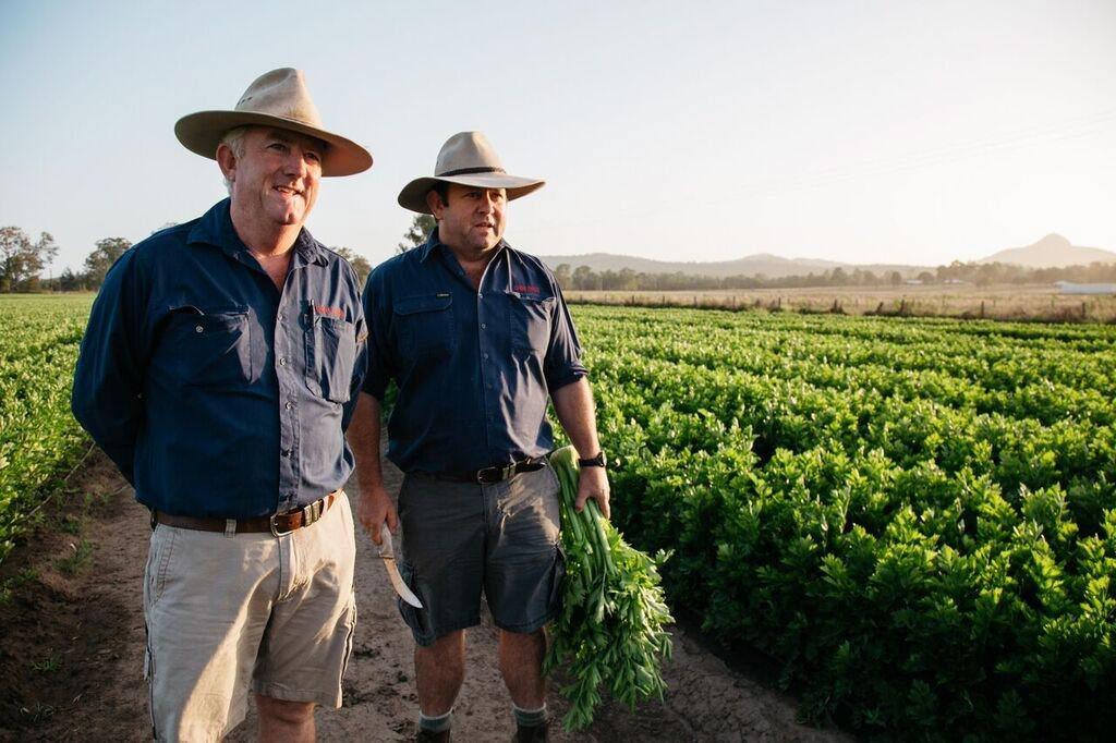 Tony and Nick Gibb at their farm in Peak Crossing..jpg
